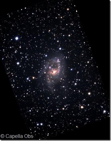 NGC 6221 Capella obs