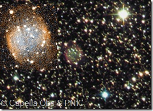 Abell 49  PN G027.3-03.4 & Vy 1_4  PN G027.4-03.5 Capella Observatory
