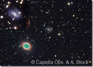 M 57  IC 1296 Capella Obs field