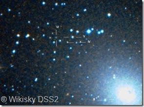 NGC 185 NE region  FJJ III, IV, V, VI DSS Whisky