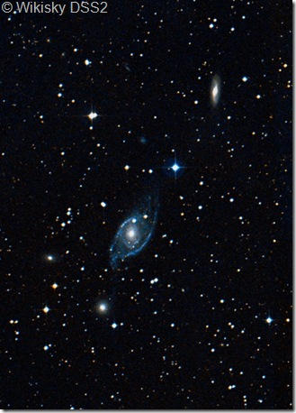NGC 1954 57  IC 2132 Wikisky DSS2