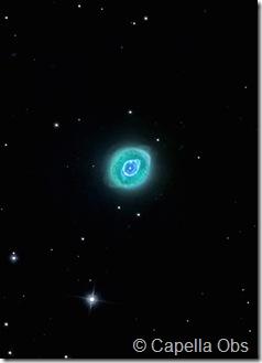 NGC 3242 Capella obs