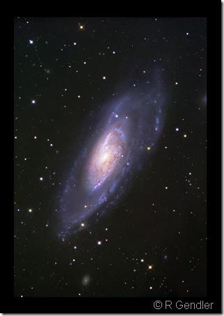 M 106  NGC 4248 R Gendler