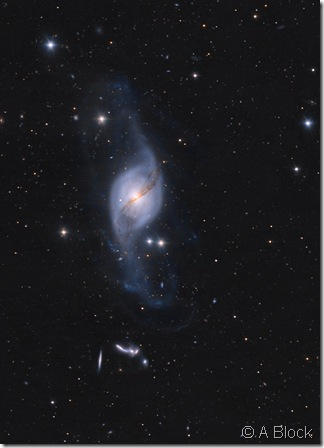 NGC 3718 29  HCG 56 A Block