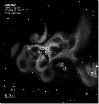 NGC 2070  T500 BL  2006 09  Namibie Tivoli