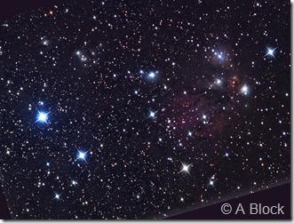 NGC 2170 82 vdB 72  LBN 999 Block Caelum obs