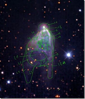 NGC 2261 J Misti