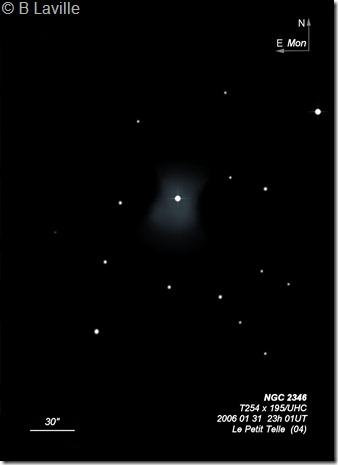 NGC 2346  T254  BL 2006 01 31