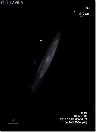 M 98  T635  BL 2010 01 19