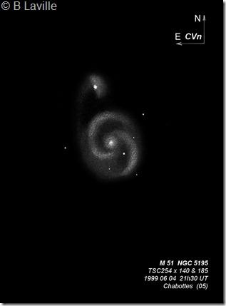 M 51  T254  BL 04 06 1999
