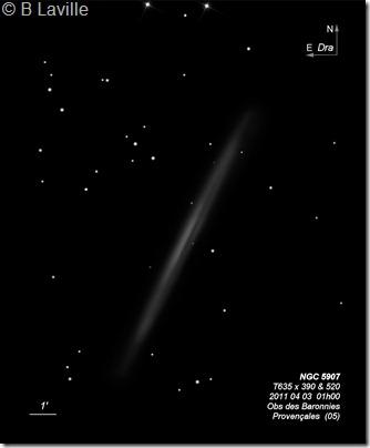 NGC 5907  T635  BL 2011 04 03