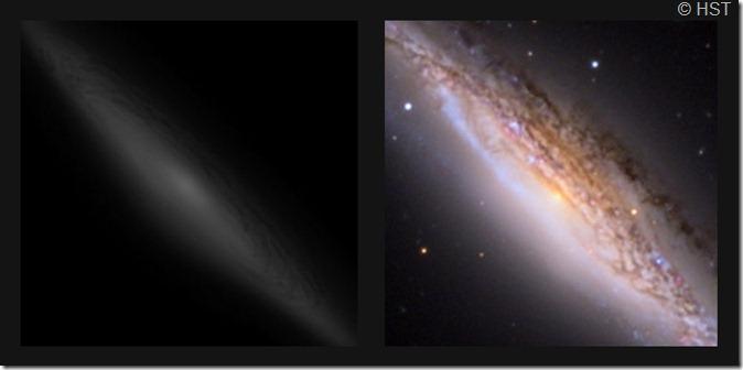 NGC 2683  BL T635 2011 & A Block