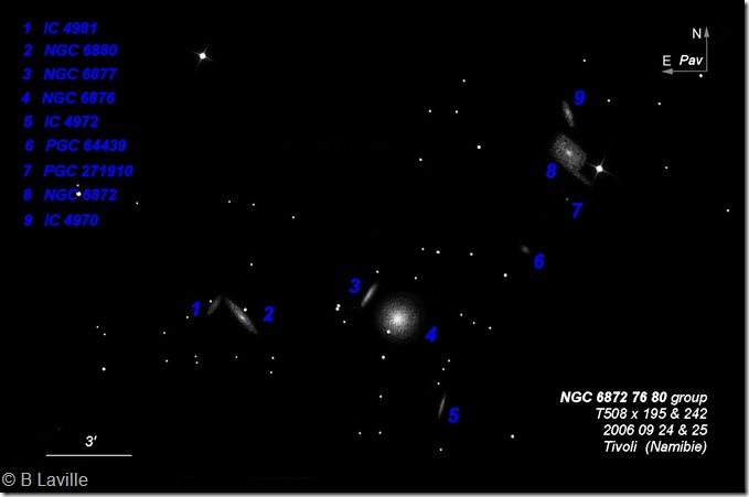NGC 6872 76 80 group  T508 BL 2006 09 24&25 labels