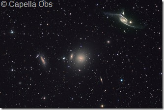NGC 6872 & Pavo group Capella Obs