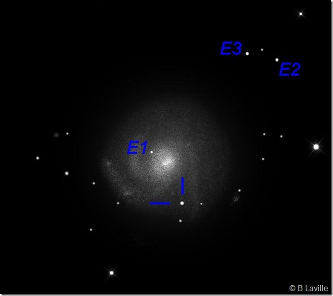 Copie de M 101 SN2011fe  T635  BL 2011 08 30