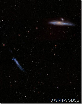 NGC 4631 4656 Wikisky SDSS