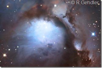 M 78  NGC 2067 68 71 Gendler