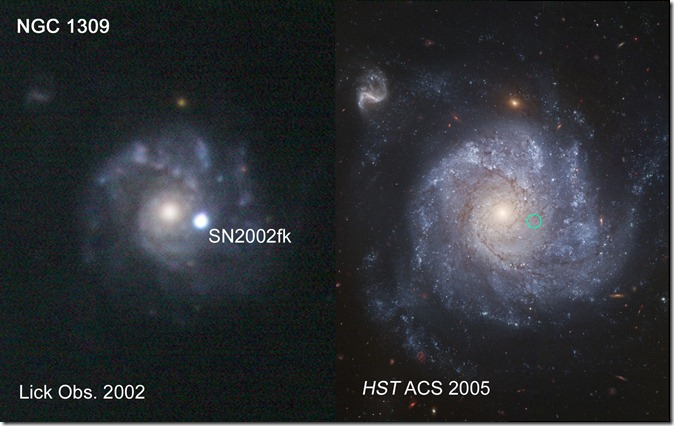 NGC 1309 with SN2002  Hst