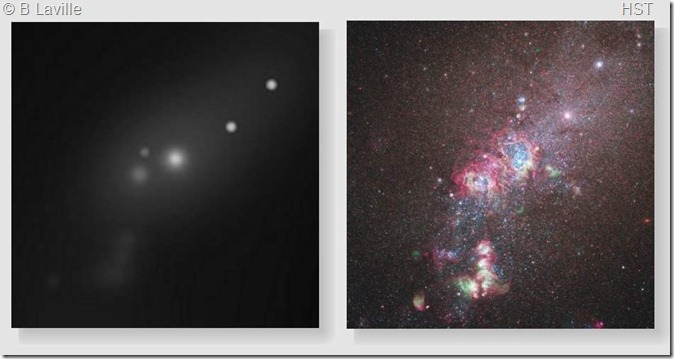 ngc 4214 core t635 & hst