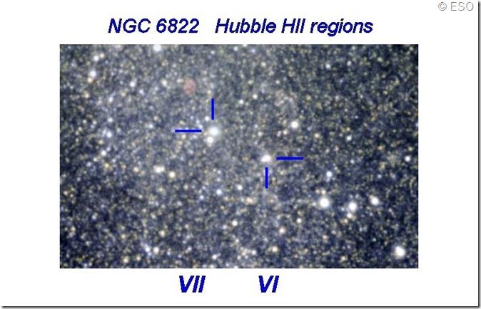 NGC 6822 Hubble VII & VI ESO