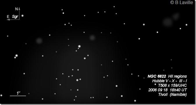 NGC 6822  T508  BL 2007 09 18 HII V X III I