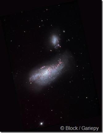 NGC 4485 90 Block Gariepy