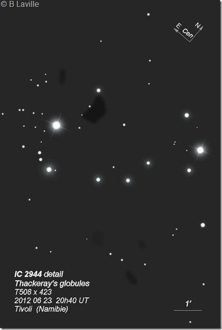 IC 2944  T508  BL 2012 06 23 globules