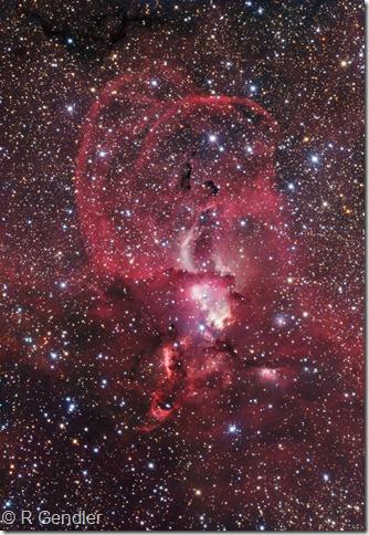 NGC 3576 79 81 82 84 86 3603 R Gendler