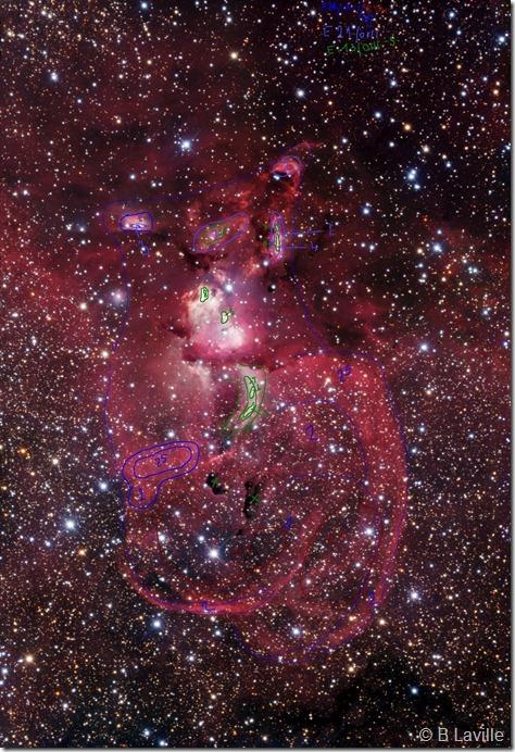 NGC 3576 79 81 82 84 86 R Gendler