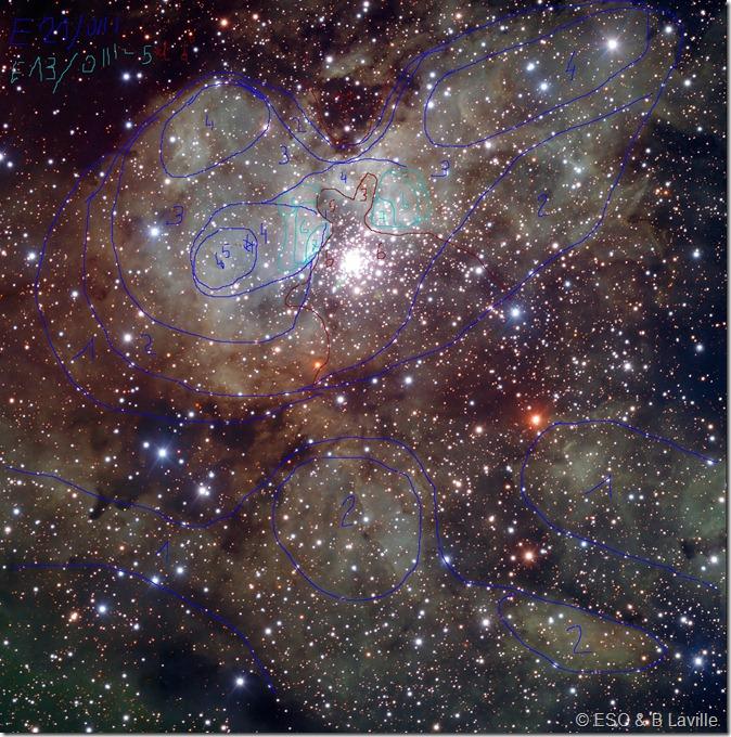 NGC 3603 ESO VLT