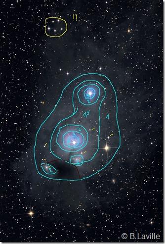 NGC 5367 IC 4347 CG 12 Capella Obs