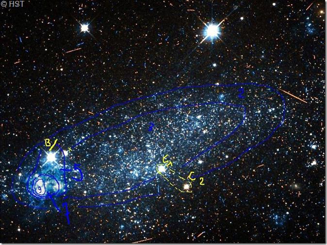 NGC 5408A Hubble WikiSky