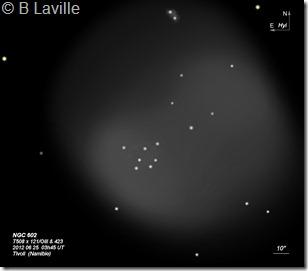 NGC 602  T508  BL 2012 06 25