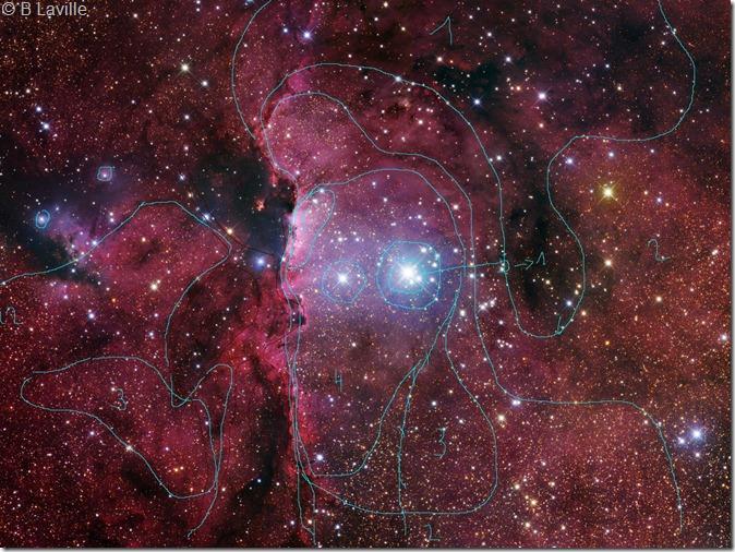 NGC 6188 M Pugh R Gendler Mosaic