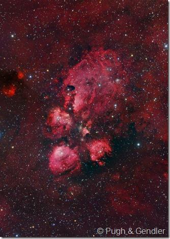 NGC 6334 M Pugh R Gendler
