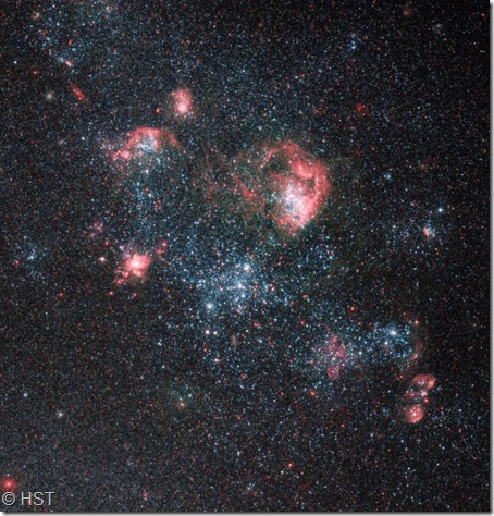 IC 2574 HII régions HST