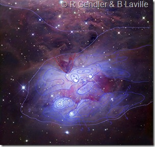NGC 1973 75 77 R GendlerNMM & BL isophotes