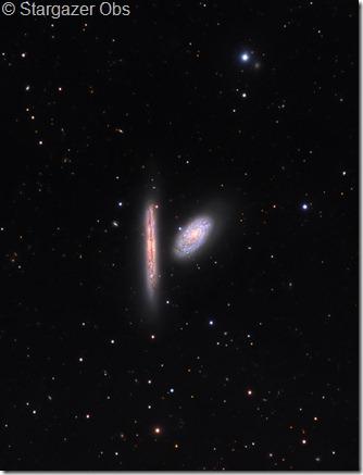 NGC 4298 4302 Stargazer Obs