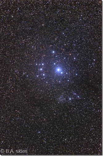 IC 2602 Mel 101 BA skies