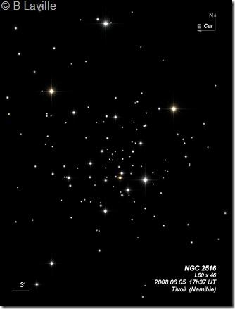 NGC 2516  L60  BL 2008 06 05