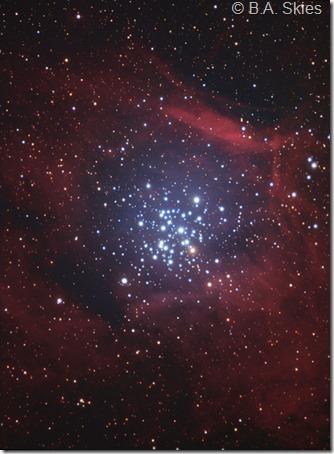 NGC 3293 BA skies LHaRGB