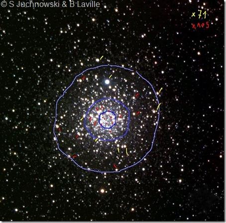 NGC 4833 Steven Juchnowski inverted