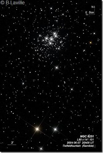 NGC 6231  L80  BL 2004 06 07