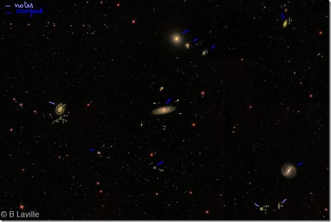 NGC 4274 group stars & DSO
