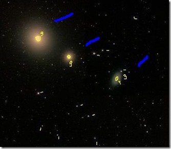 NGC 4278 83 86 T635 2013 02 09 croquis