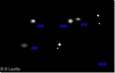 HCG 16  NGC 833 35 38 39  T254  BL  2001 10 25 labels