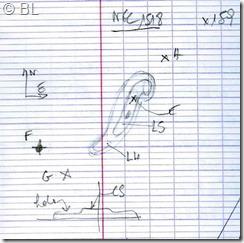 NGC 1518  T254  BL 2006 01 21 croquis