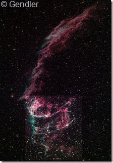 NGC 6992 95  IC 1340 Gendler