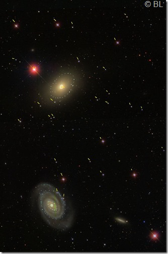 NGC 5363 64  T635  BL 2016 03 14 étoiles