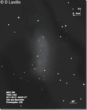 NGC 206  T635  BL 2011 08 31